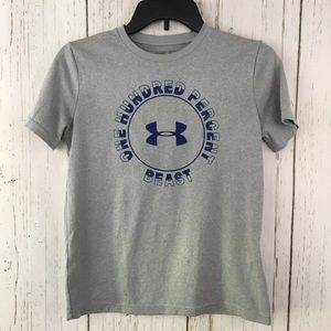 Under Armour Kids Gray Top